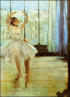 danseuse devant la fenêtre